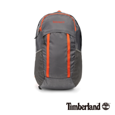 Timberland 中性鐵灰撞色休閒雙肩包|A2FVH