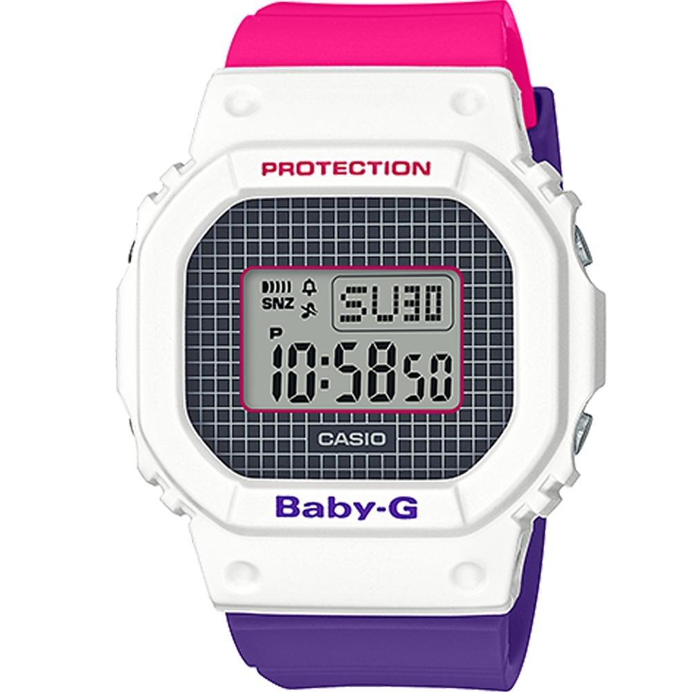BABY-G 復古配色運動錶(BGD-560THB-7)