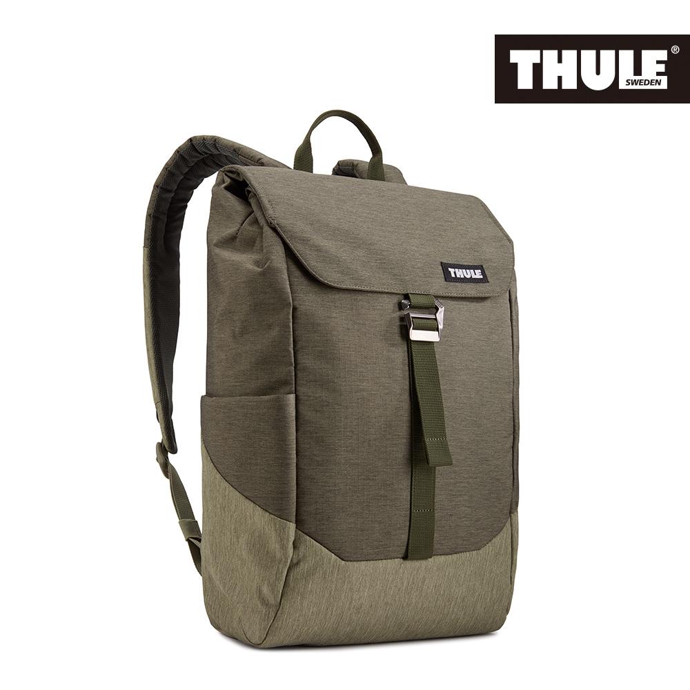THULE-Lithos 16L筆電後背包TLBP-113-軍綠