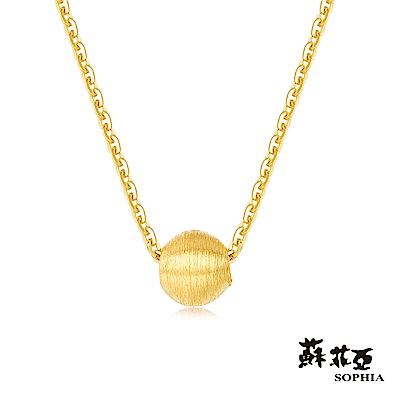 蘇菲亞SOPHIA - G LOVER系列唯一黃金項鍊