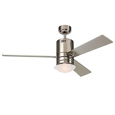 領航者 美式工業銀52吋吊扇+多燈組