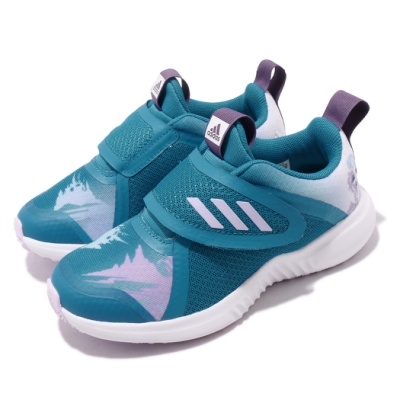adidas 慢跑鞋 FortaRun X Frozen 童鞋