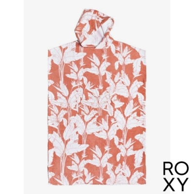 【ROXY】STAY MAGICAL PRINTED 浴巾衣 粉紅