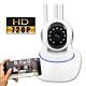 監視者 360度全景紅外線三天線網路監控攝影機 product thumbnail 1