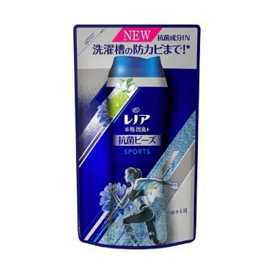 日本【P&G】本格消臭 Lenoir除臭劑房乾燥 消臭藍 清涼型香香豆補充包