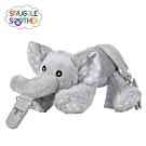【Snuggle史納哥】安撫絨毛玩偶娃娃奶嘴夾-小灰象