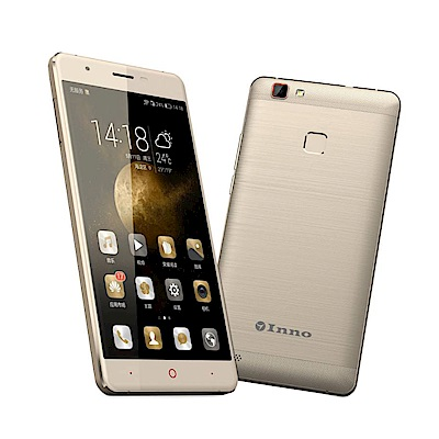 INNO N6 四核心5.5吋智慧型手機-金色