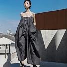 設計所在Style-原創設計師款髒洗做舊風格吊帶背心裙