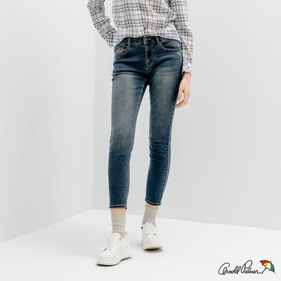 Arnold Palmer -女裝-基本款合身牛仔褲-深藍色
