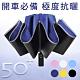 Lufy極度防曬 UPF50+體感降溫 安全反光條反向傘 超輕十骨防風自動晴雨傘 product thumbnail 1