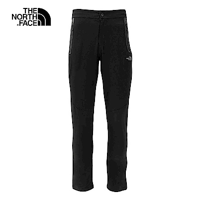 The North Face北面男款黑色防潑水戶外遠足長褲|3L8ZJK3