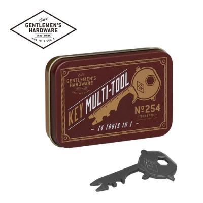 【Gentlemen s Hardware】14合1多功能鑰匙隨身工具組