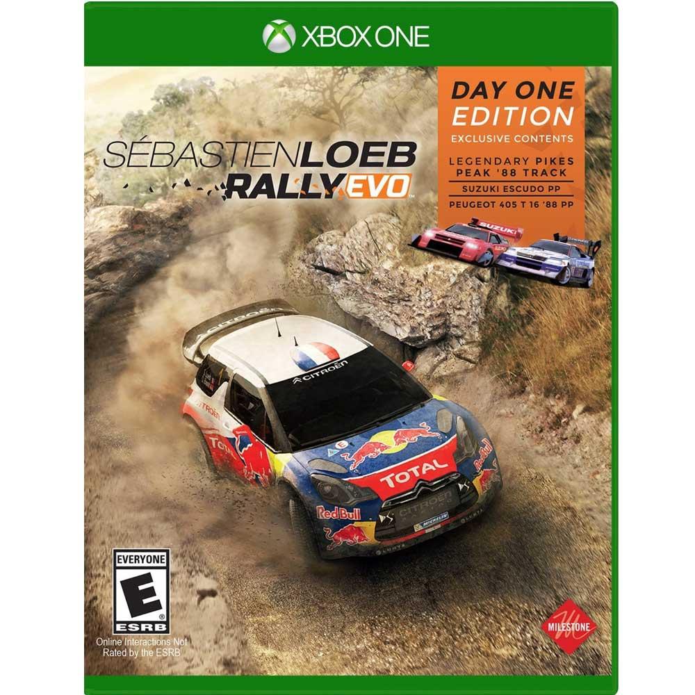 塞巴斯蒂安拉力賽車 Sebastien Loeb Rally-XBOX ONE 英文美版