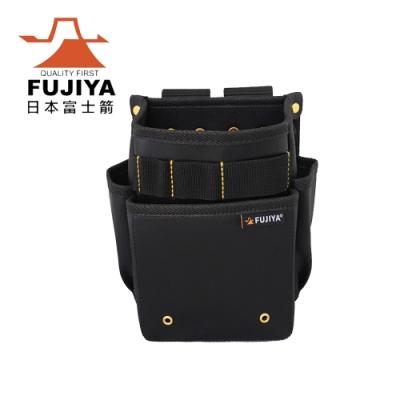 【FUJIYA】防潑水腰間工具收納袋-二層型