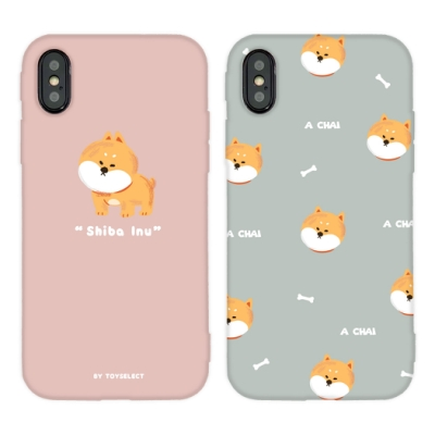【TOYSELECT】iPhone X/Xs Chubby大頭柴犬系列手機殼