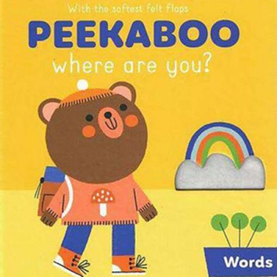 Peekaboo,Where Are You?:Words 躲貓貓翻翻書:單字篇