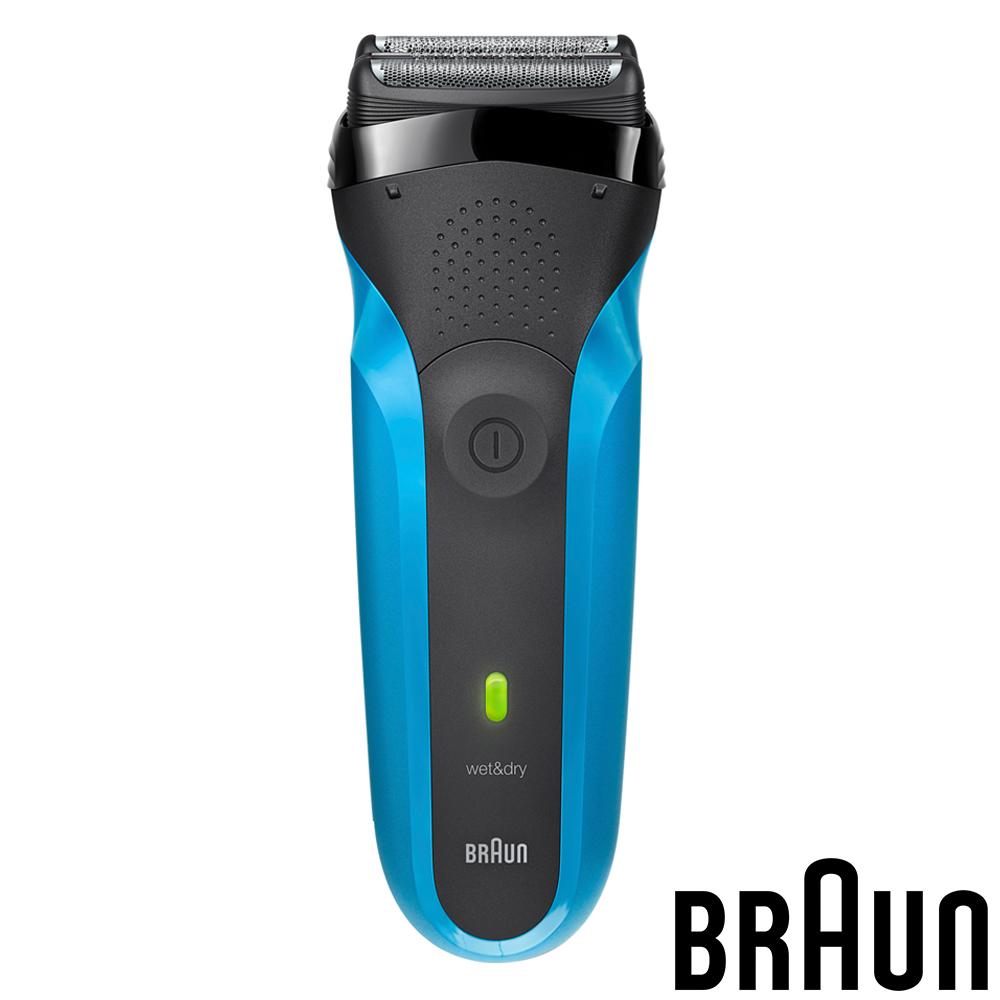 (福利品)德國百靈BRAUN-三鋒系列電鬍刀310s(藍色)