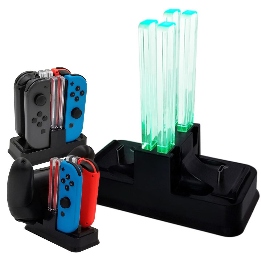 Nintendo任天堂Switch專用 Pro/Joy-Con手把充電座 (副廠)