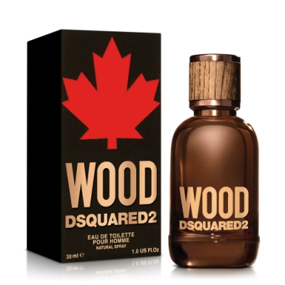 DSQUARED2 WOOD 天性男性淡香水30ml