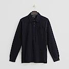 Hang Ten - 男裝 - 休閒口袋POLO衫-深藍色