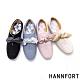 [時時樂限定]HANNFORT CALIFORNIA金沙扭結丹寧休閒鞋