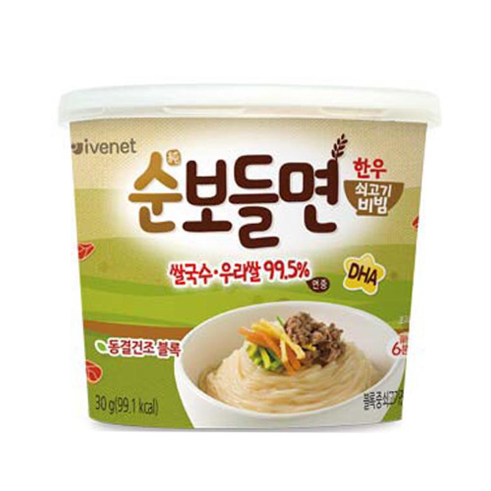 (即期品) 韓國 ivenet 艾唯倪 速食營養乾拌米線(牛肉風味)
