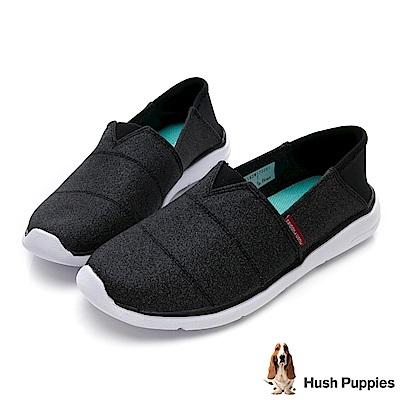 Hush Puppies Bittren 直套式休閒鞋-黑