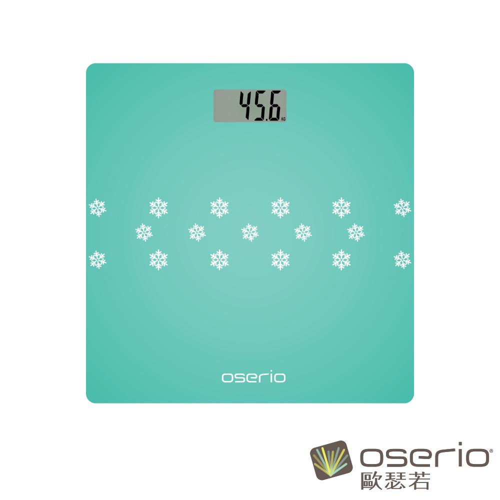 oserio歐瑟若 數位體重計 (藍BNG-207B)