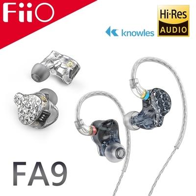 FiiO FA9 樓氏六單元動鐵MMCX單晶銅鍍銀可換線耳機