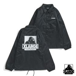 XLARGE EMBROIDERY OG COACHES JACKET防風外套-黑