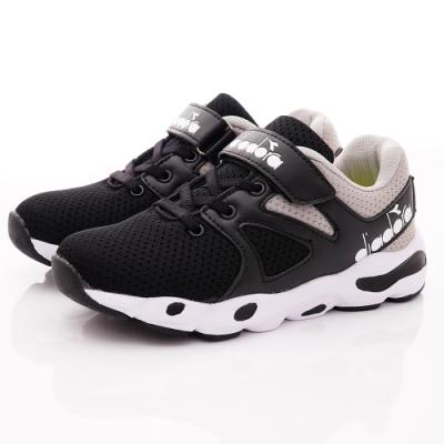 DIADORA童鞋 復古厚底老爹鞋款 SE910黑(中大童段)