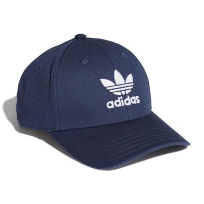adidas 棒球帽 Trefoil Baseball Cap 愛迪達 三葉草 遮陽 老帽 穿搭 藍 白 GN4888