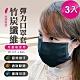 (3入)負離子竹炭抗菌纖維口罩套 台灣製 MIT 防塵套 防護 防疫必備 product thumbnail 2