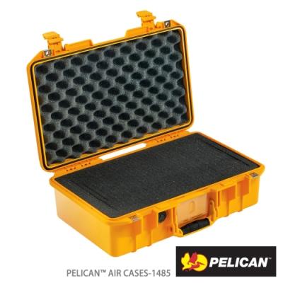 美國 PELICAN 1485Air 超輕氣密箱-含泡棉(黃)