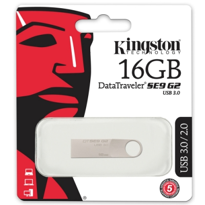金士頓 Kingston DataTraveler SE9 G2 USB3.0 16GB 隨身碟