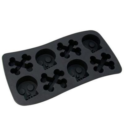 iSFun 趣味骷髏 矽膠模型製冰盒 隨機色(新)
