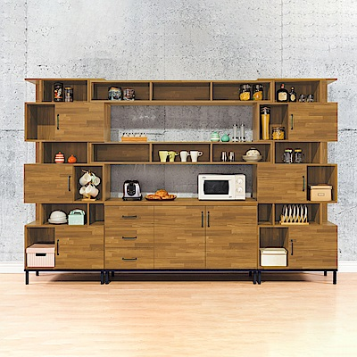 AS-麥麗10尺組合餐櫃-309.3x40x79cm