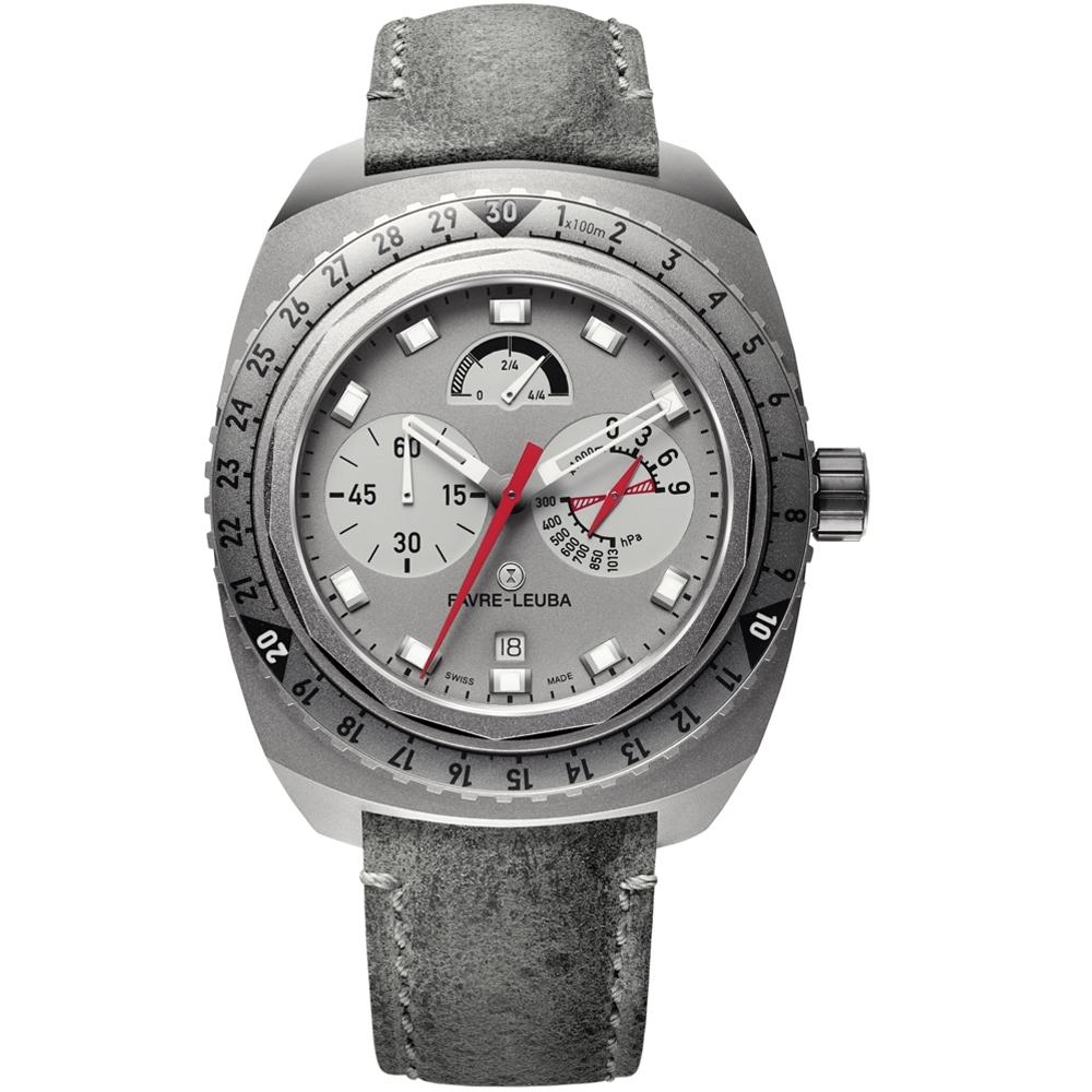 Favre-Leuba域峰表RAIDER系列BIVOUAC 9000手錶