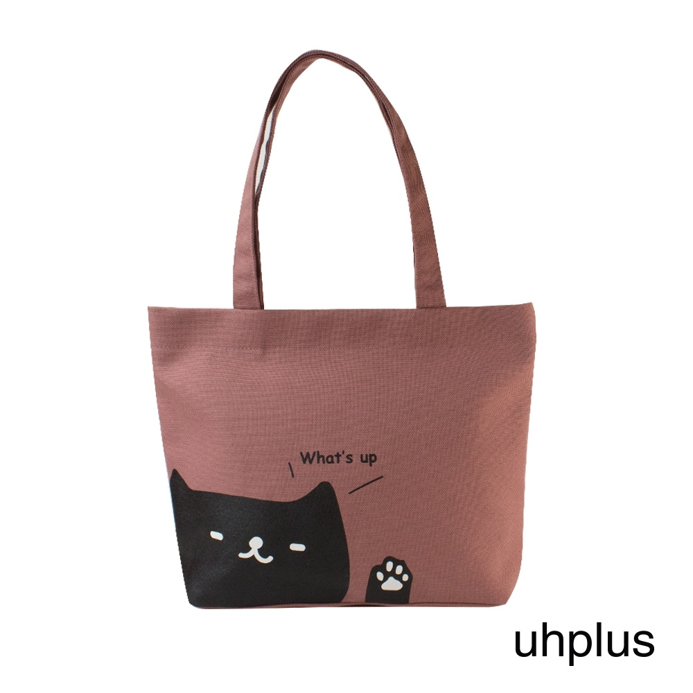 uhplus 輕托特-喵日常- whats up(粉)