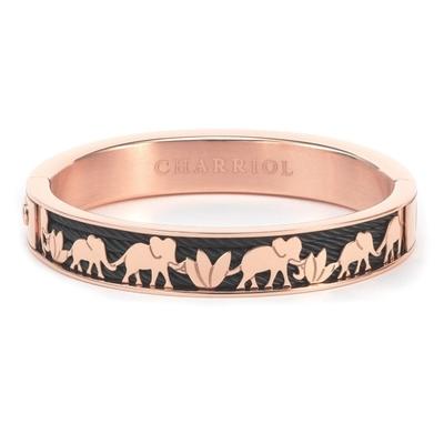 CHARRIOL 夏利豪 BANGLE FOREVER ELEPHANT系列 大象玫瑰金手環S(04302113918)