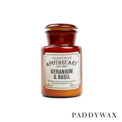 PADDYWAX 美國香氛 Apothecary 藥劑師系列 羅勒天竺葵 226g