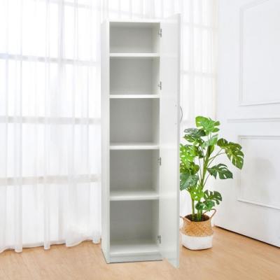 Bernice-1.6尺一門多用途防水塑鋼收納櫃(兩色可選)-47x48x190cm