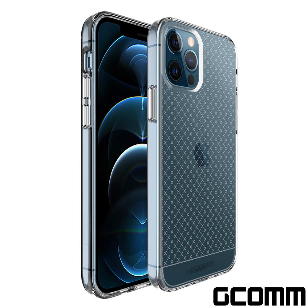 GCOMM iPhone 12/12 Pro 十字紋軍規防摔殼 Crystal Cross