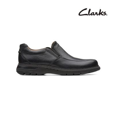 Clarks   摩登經典  Un Ramble Step  男鞋  黑色  CLM36999SC20