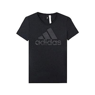 adidas 女 ID BOS W 圓領T(短)