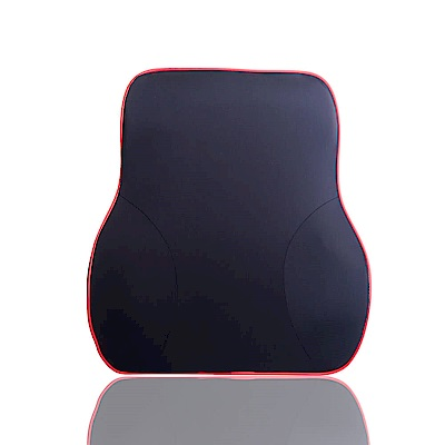 【OMyCar】慢回彈冰絲(舒壓護腰墊)可拆洗 太空記憶棉枕 透氣舒適
