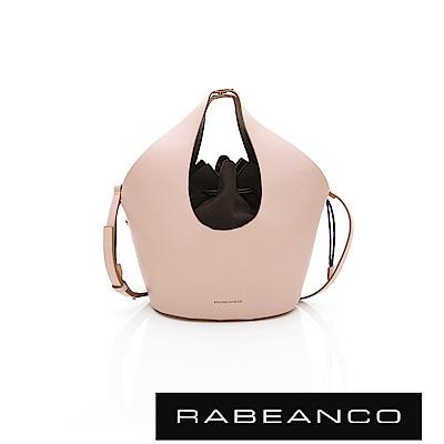 RABEANCO AINA手提/肩揹水桶包 粉色