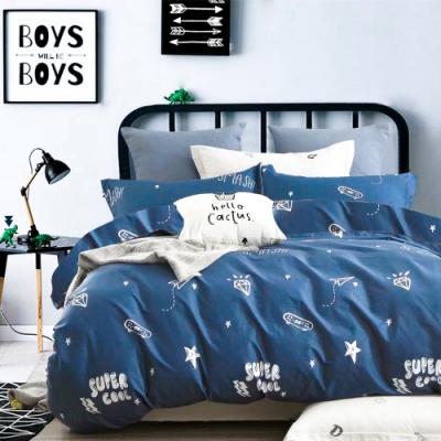 3-HO-雪紡棉 單人床包/枕套 二件組-夢樂園