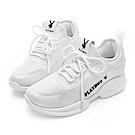 PLAYBOY 簡約風格輕量休閒鞋-白 Y527511