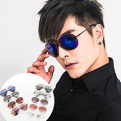 BuyGlasses 熱銷飛官大框太陽眼鏡